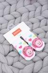 Baby Socks with Soxo Mushroom Rattle