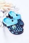 Children's Foam Slippers Crocs Navy Blue Jupiter