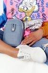 Small Women's Waist Sachet Cross Bag Amsterdam Light Blue