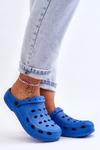Women's Slides Foam Blue Crocs EVA